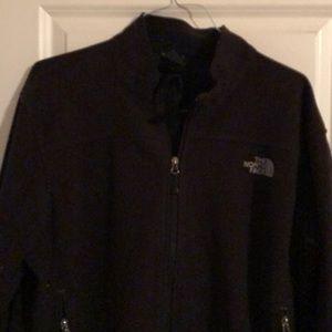 The North Face men's XL black jacket